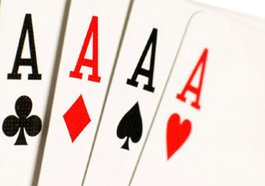 hand of four aces image